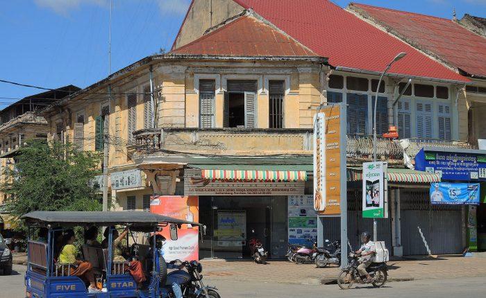 Battambang ville maisons