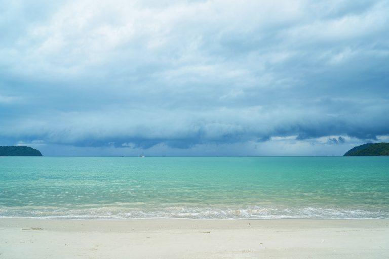 Lazy Beach Plage Cambodge Amedasie