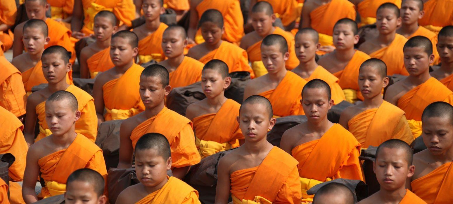 Moines bouddhistes Thaïlande traditions et culture de Thaïlande