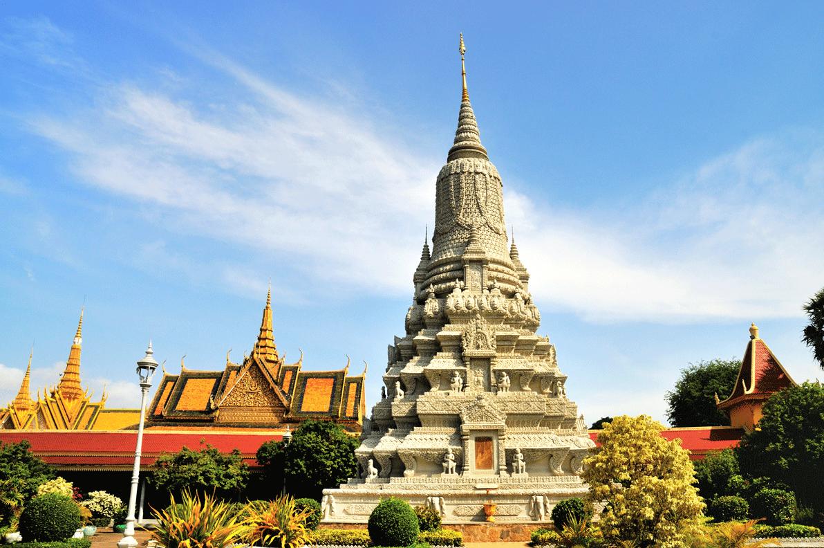temple phom penh