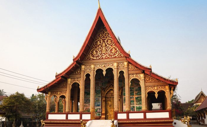 Temple Luang Prabang Palais Royal