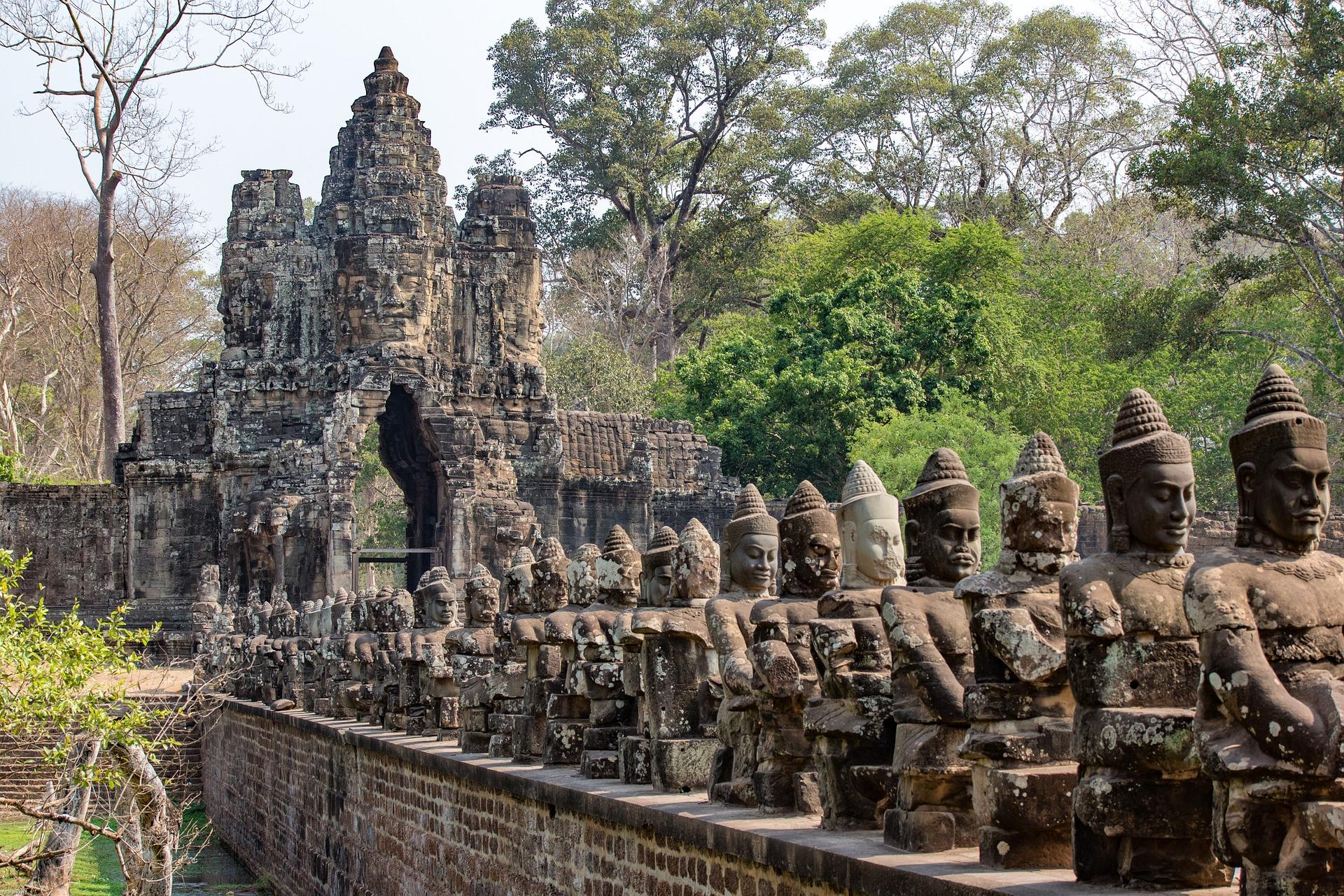angkor temples partir au cambodge