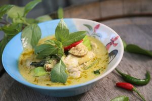 plat thailandais curry vert