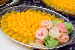 dessert thailandais plat thaïlandais