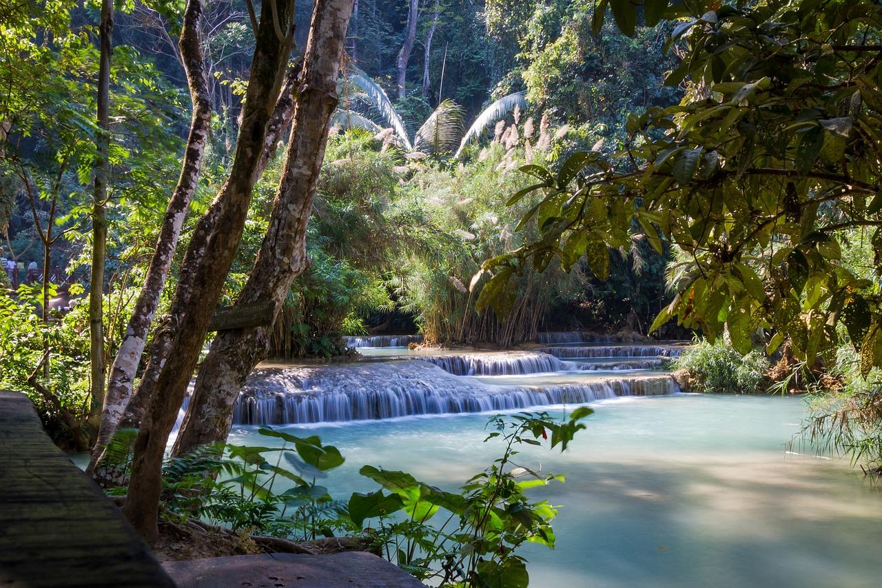 cascades au laos partir au laos