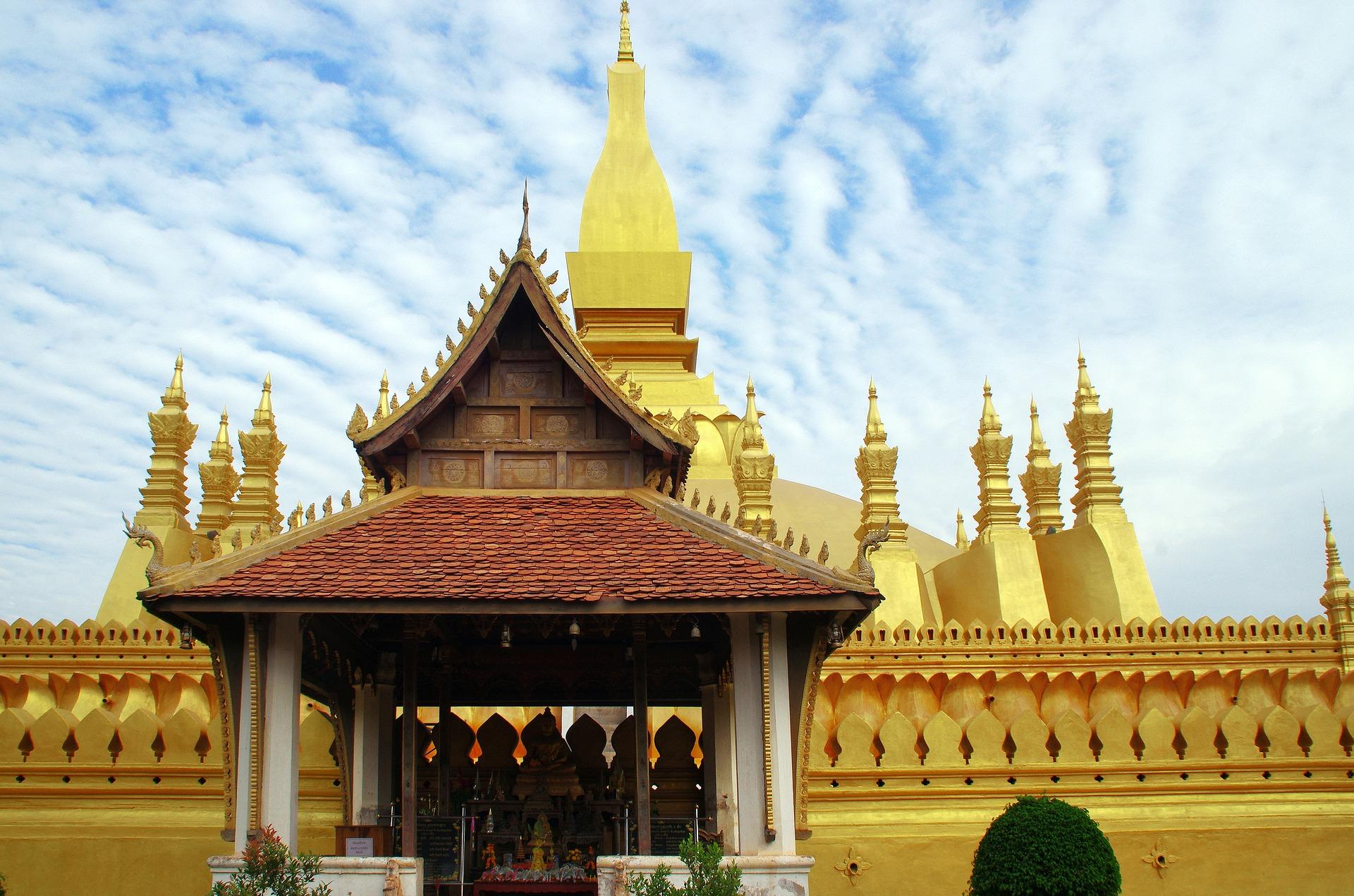 temple vientiane partir laos