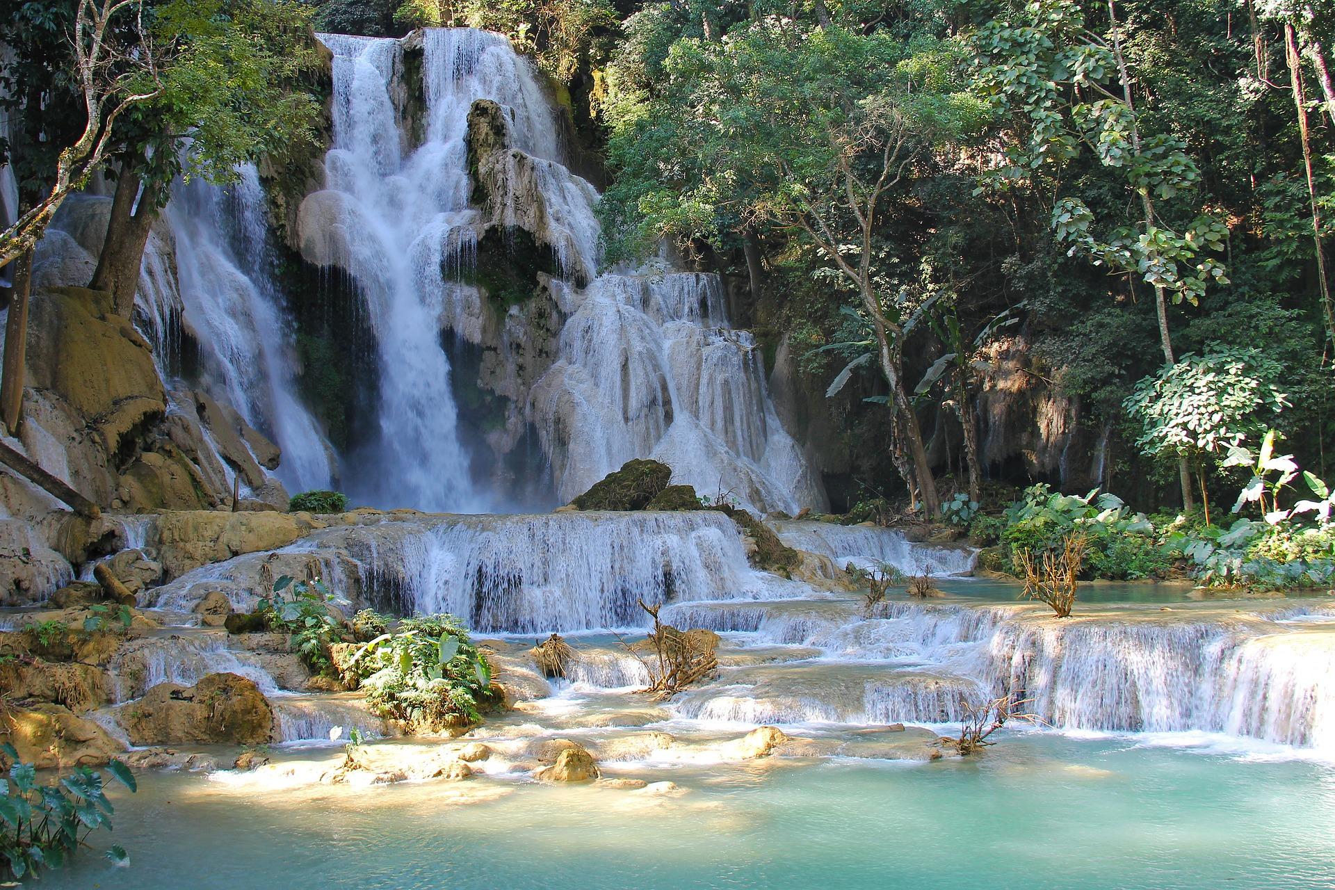 Laos luang prabang cascades