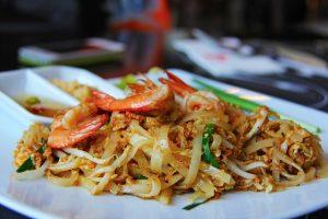 pad thai plat thaïlandais