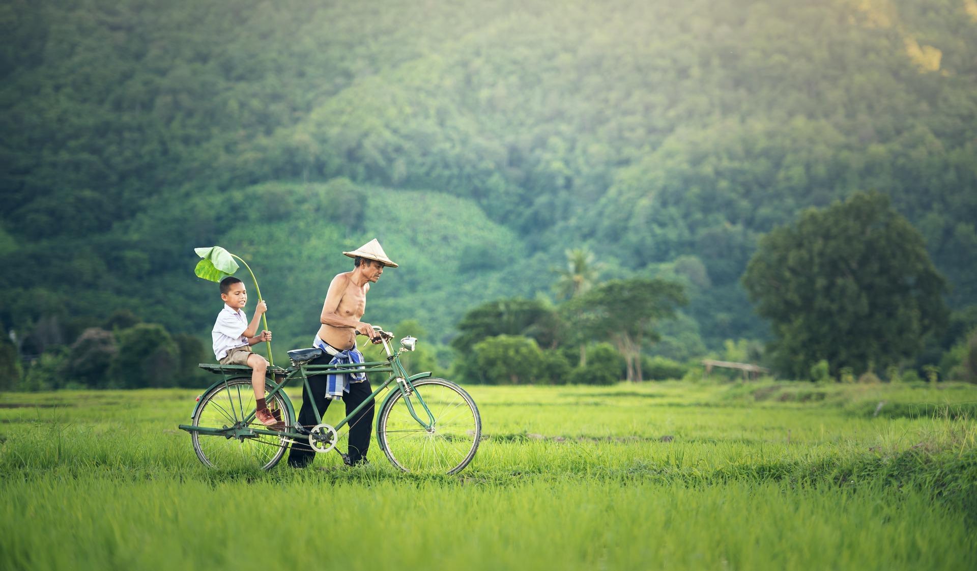 vélo partir au cambodge