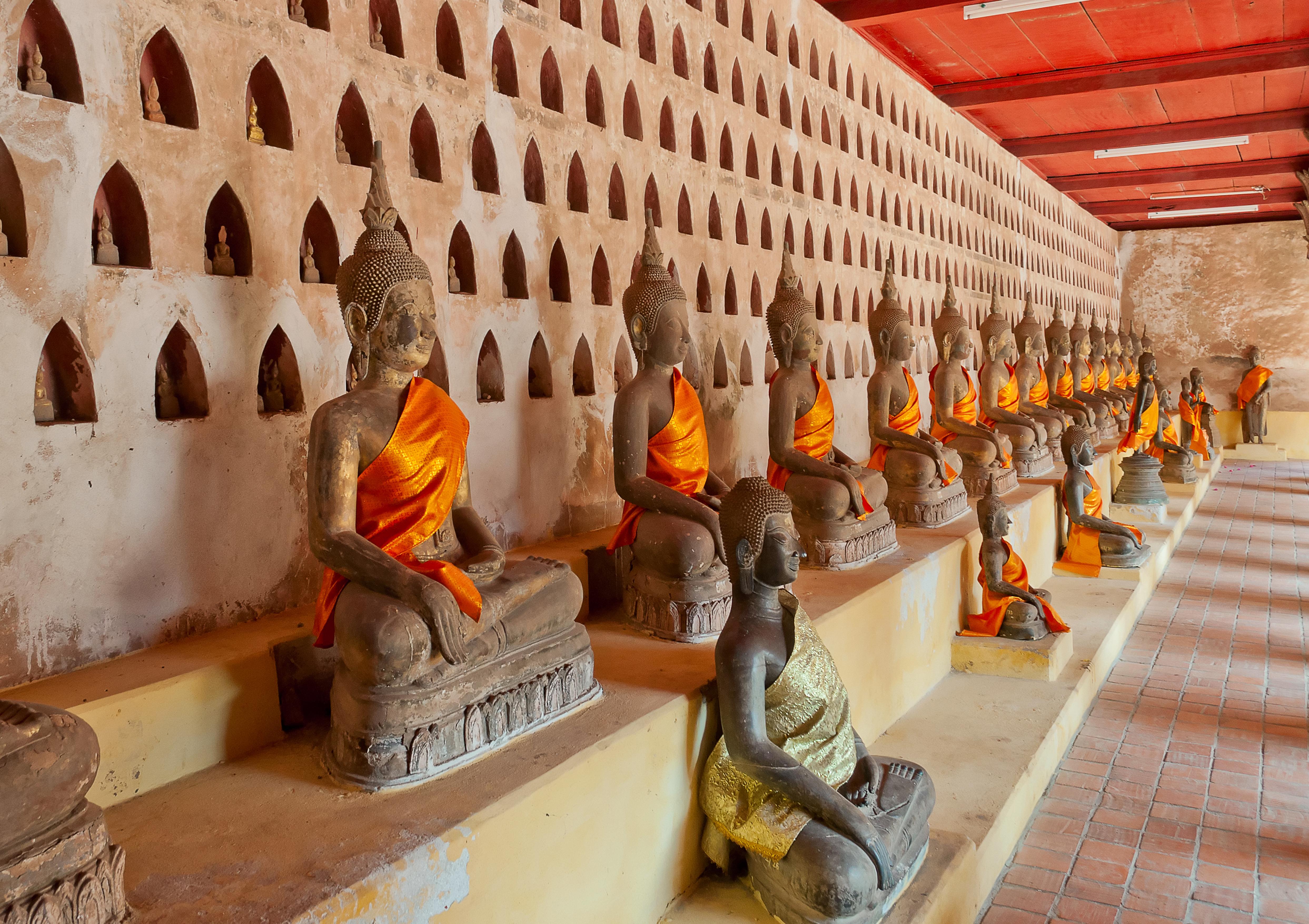 vietiane temple bouddha
