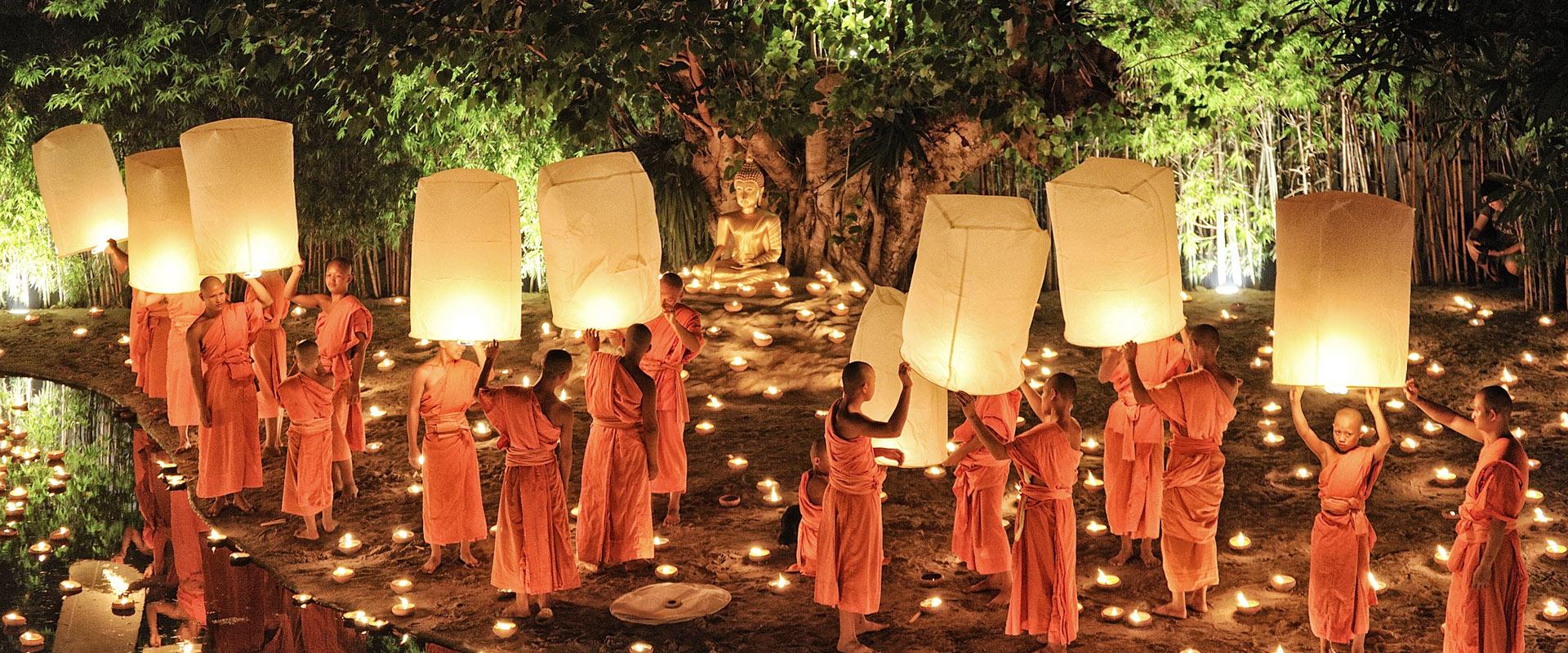 Fête Yi Peng Chiang Mai Thaïlande Amedasie