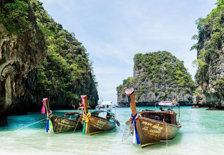 Koh Phi Phi plage Thaïlande Amedasie