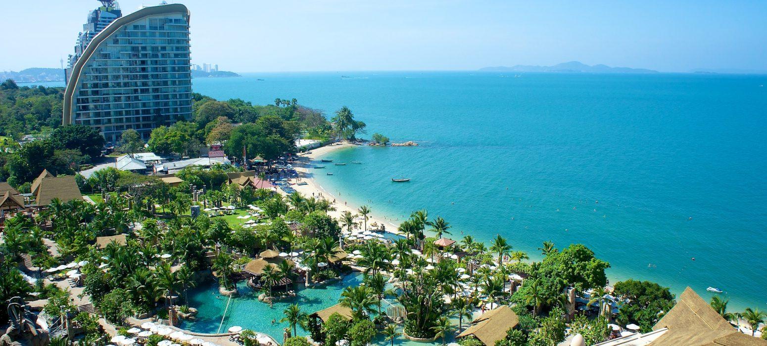 plage hotel pattayapartir en Thaïlande