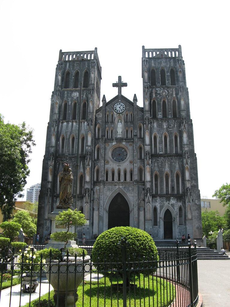 cathédrales en Asie du Sud-Est