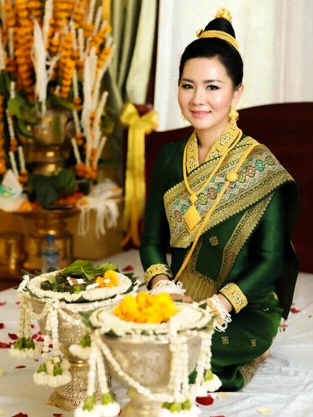 Vêtement traditionnel du Laos