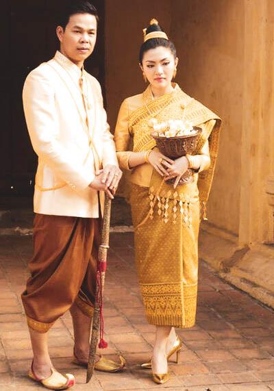 Vêtemen traditionnel Laotien
